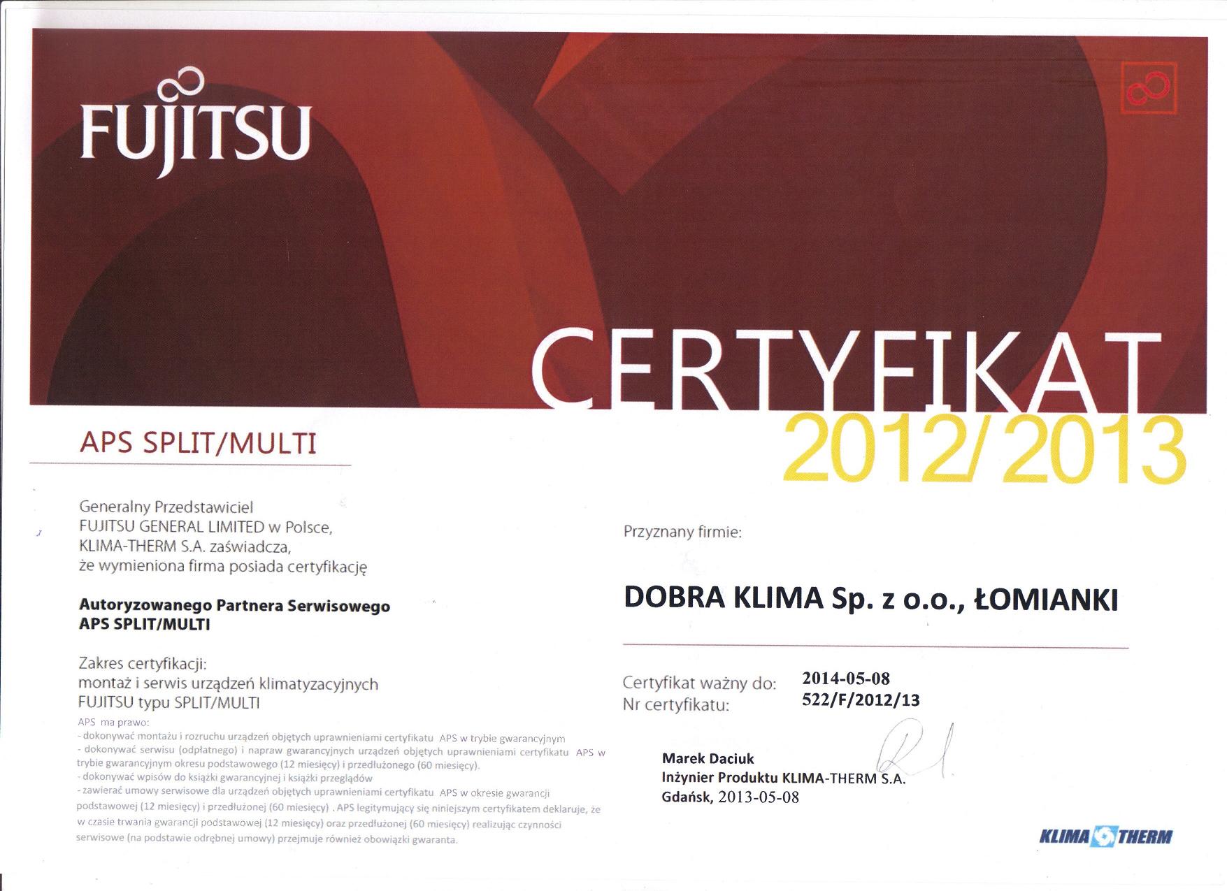 2013-certyfikat-fujitsu
