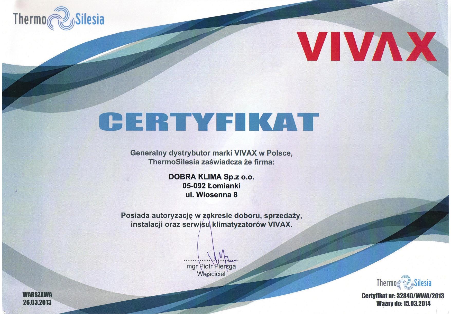 2013-certyfikat-vivax