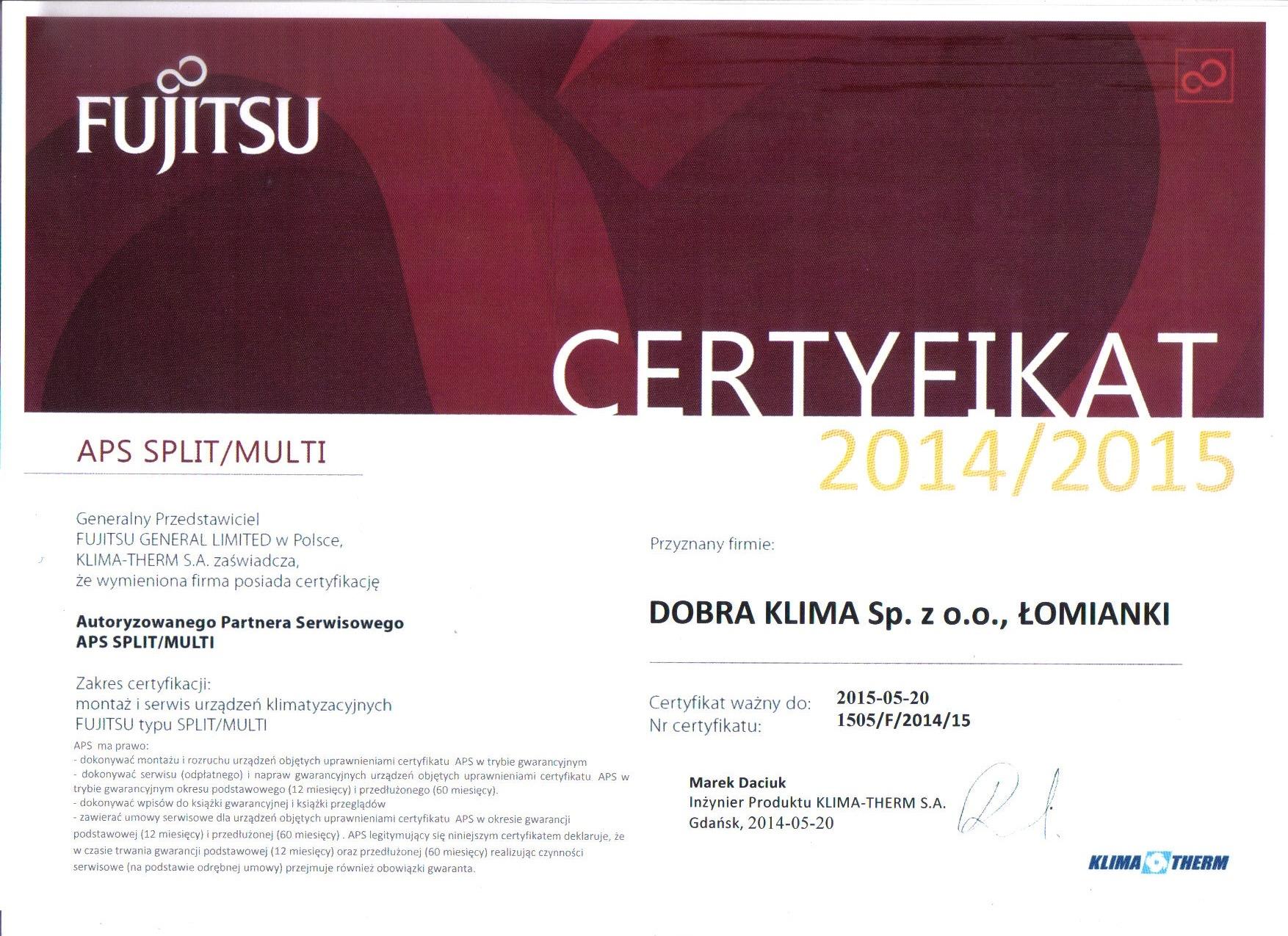 2014-certyfikat-fujitsu