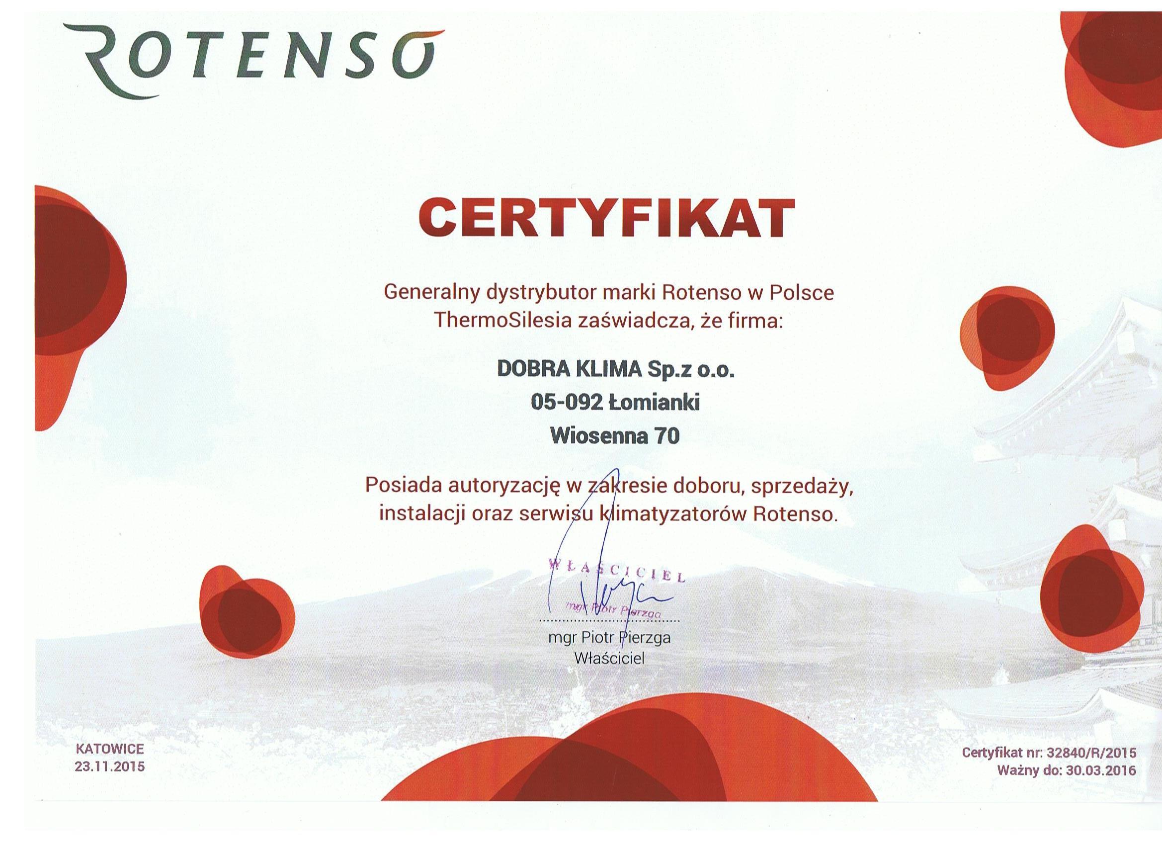 2015-certyfikat-rotenso