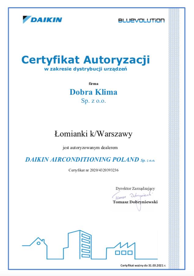 2020-certyfikat-daikin