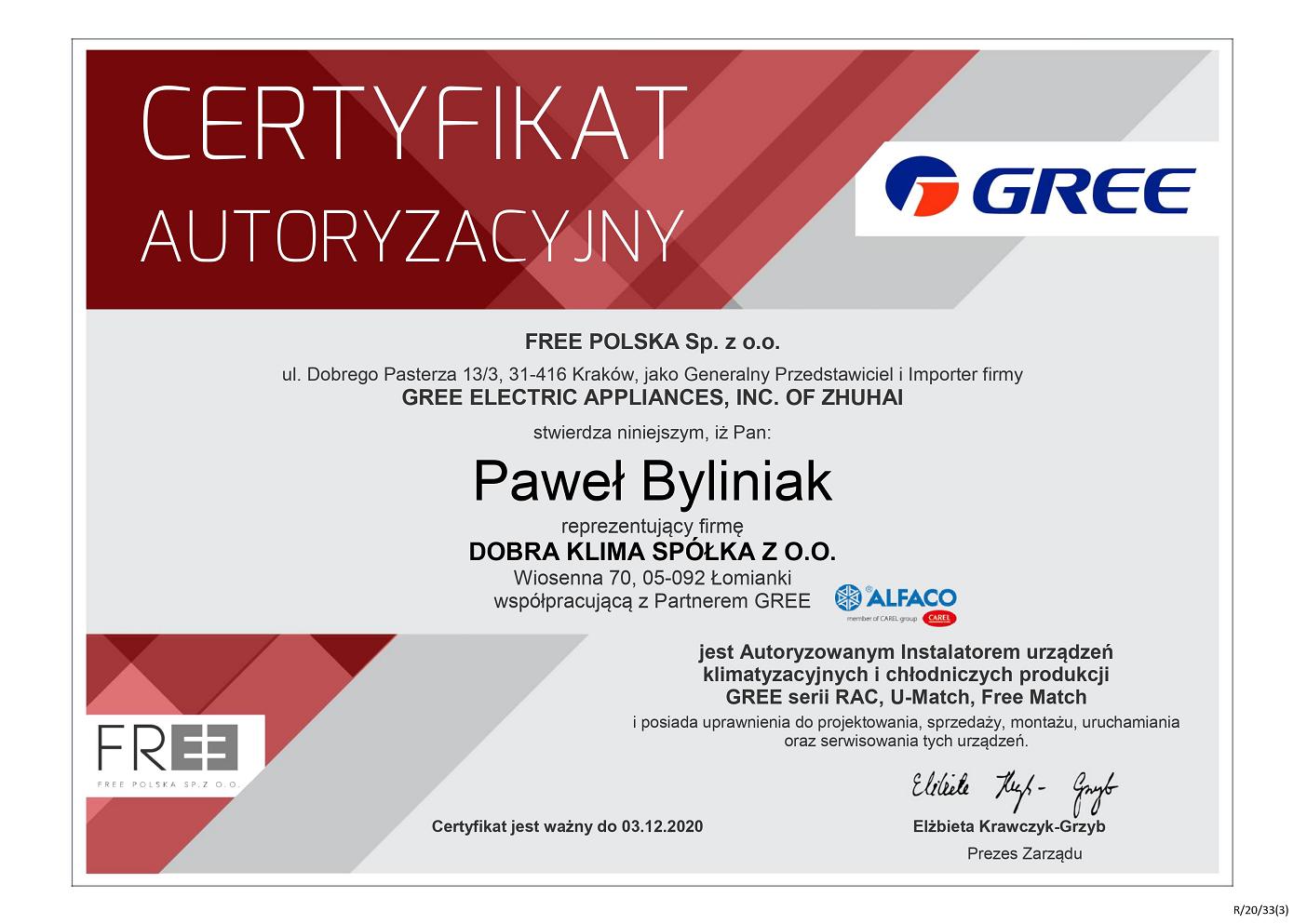 2020-certyfikat-gree-pawel-byliniak