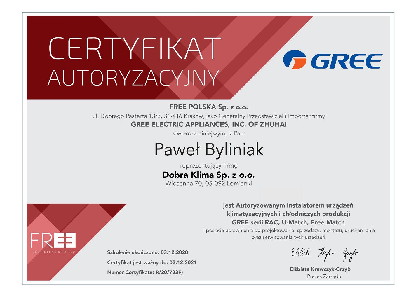 2021-certyfikat-gree-pawel-byliniak